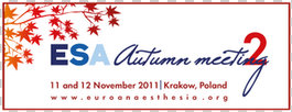 ESA Autumn Meeting