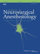 Poza Journal of Neurosurgical Anaesthesiology