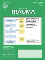 Poza Journal of Trauma: Injury, Infection, and Critical Care